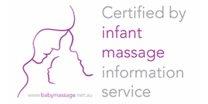 Certified by infant massage information service - MarisSage Remedial Therapies